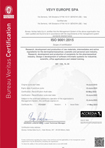 Vevy Europe Quality Certification